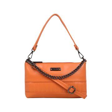 ESBEDA | ESBEDA Orange Color Twill Sling Bag For Women