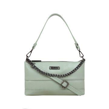 ESBEDA | ESBEDA Green Color Twill Sling Bag For Women
