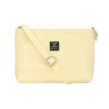 ESBEDA   ESBEDA Yellow Color Twill Slingbag  For Women