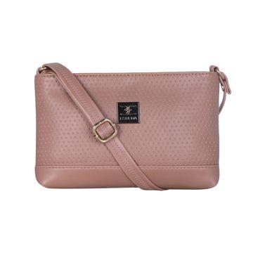 ESBEDA | ESBEDA Pink Color Twill Slingbag  For Women