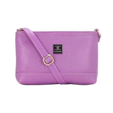 ESBEDA | ESBEDA Purple Color Twill Slingbag  For Women