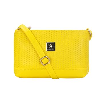 ESBEDA | ESBEDA Yellow Color Twill Slingbag  For Women