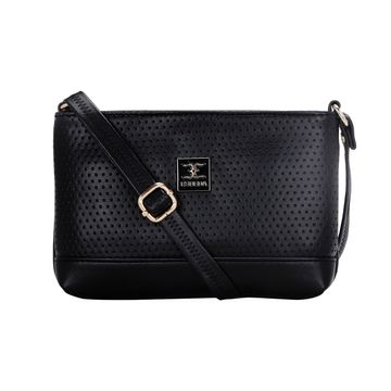ESBEDA | ESBEDA Black Color Twill Slingbag  For Women