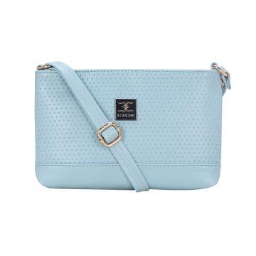 ESBEDA | ESBEDA Blue Color Twill Slingbag  For Women