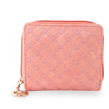 ESBEDA | ESBEDA Light Pink Color Elegance Embroidered Design Wallet For Women