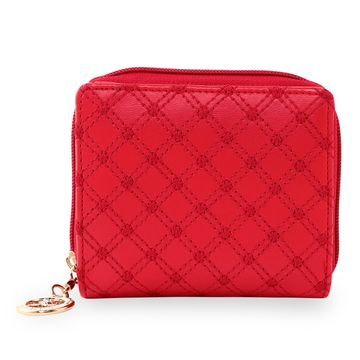 ESBEDA | ESBEDA Red Color Elegance Embroidered Design Wallet For Women