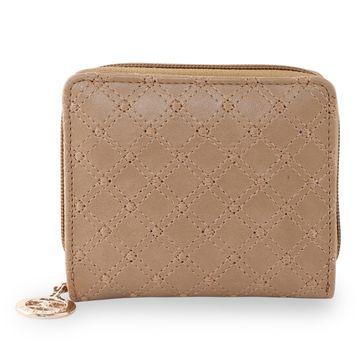 ESBEDA   ESBEDA Beige Color Elegance Embroidered Design Wallet For Women