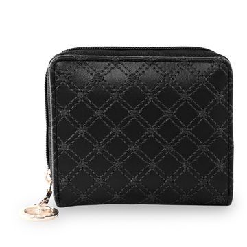 ESBEDA | ESBEDA Black Color Elegance Embroidered Design Wallet For Women
