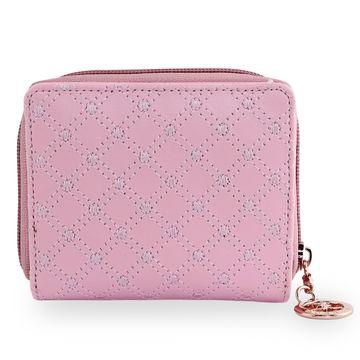 ESBEDA | ESBEDA Baby Pink Color Elegance Embroidered Design Wallet For Women