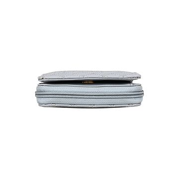 ESBEDA | ESBEDA Light GreyColor Elegance Embroidered Design Wallet For Women