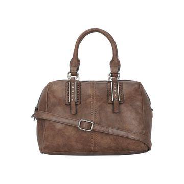 ESBEDA   ESBEDA Coffee Colour Antique Beaded Stone Handbag For Women