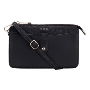 ESBEDA | ESBEDA Black Color Small dailyuse sling bag For Women