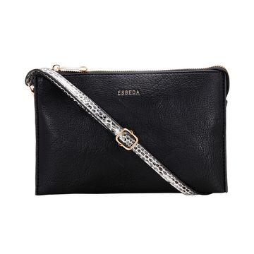 ESBEDA | ESBEDA Black Color Casual Small Sling Bag For Women