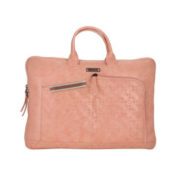 ESBEDA   ESBEDA Pink Color Flocking Laptop Sleeve case For Mens and Womens