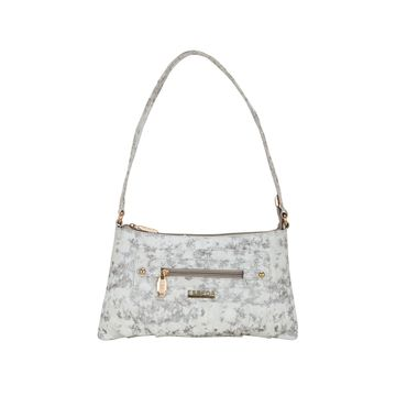 ESBEDA | ESBEDA White Color Lurex Partywear Handbag For Women
