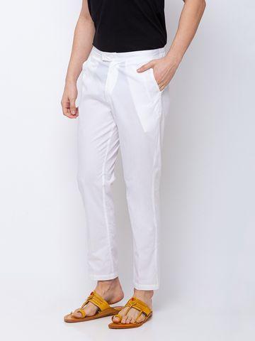 Ethnicity   White Cotton pants