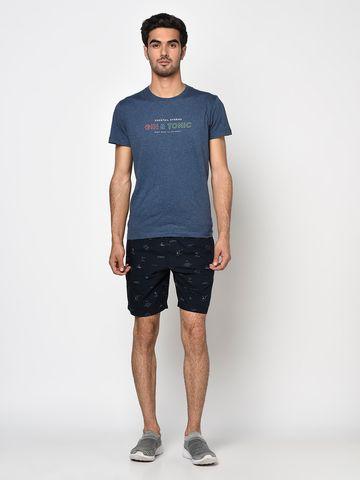 OCTAVE   Men NAVY Shorts