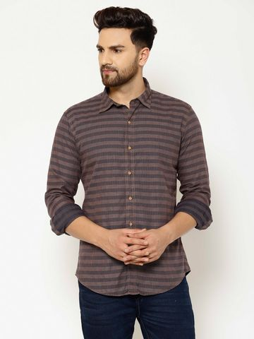 Eppe | Eppe Wine Casual Shirts