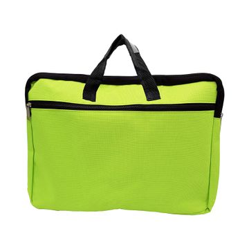 iLife | iLife A3 Legal Zippered Business Document Bag for Multi-Purpose Usage Use for Files Folder Good in Meeting (Green)