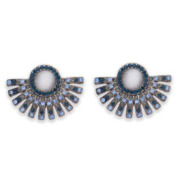 globus | Globus Silver Statement Stud Earring