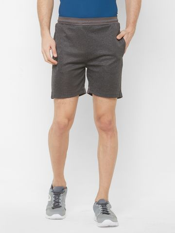 FITZ | brown solid shorts