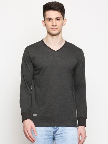 FITZ | Fitz Cotton Blend V-Neck T-Shirt For Men