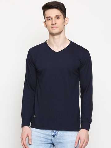 FITZ | Fitz Cotton Blend V-Neck T-Shirt For Men
