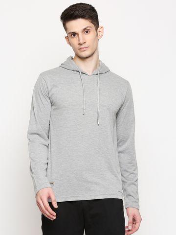 FITZ   Fitz Cotton Blend Hooded T-Shirt For Men