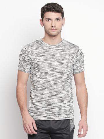 FITZ | White Solid Polo Tshirt