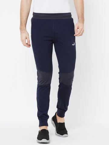 FITZ | navy blue color block jogger
