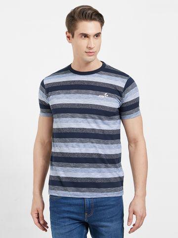 FITZ | Blue Stripes Polo Tshirt