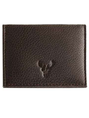 Napa Hide | Napa Hide RFID Protected Genuine High Quality Leather Dark Brown Wallet for Men