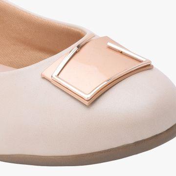 SALARIO | Salario Embellished Round-Toe Ballerinas