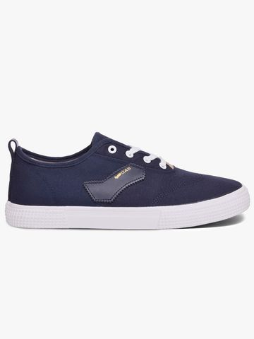 GAS | Low-Top Lace-Up Casual Shoes with Signature Branding