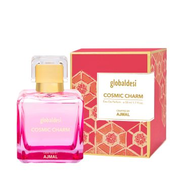 Global Desi Crafted By Ajmal | Global Desi Cosmic Charm Eau De Parfum 50ML for Women Crafted by Ajmal