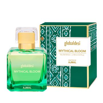 Global Desi Crafted By Ajmal | Global Desi Mythical Bloom Trance Eau De Parfum 100ML for Women Crafted by Ajmal