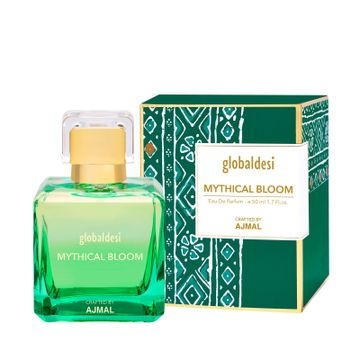 Global Desi Crafted By Ajmal | Global Desi Mythical Bloom Trance Eau De Parfum 50ML for Women Crafted by Ajmal