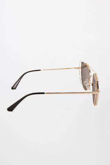 Global Desi | Grey Uneven Lens Sunglasses
