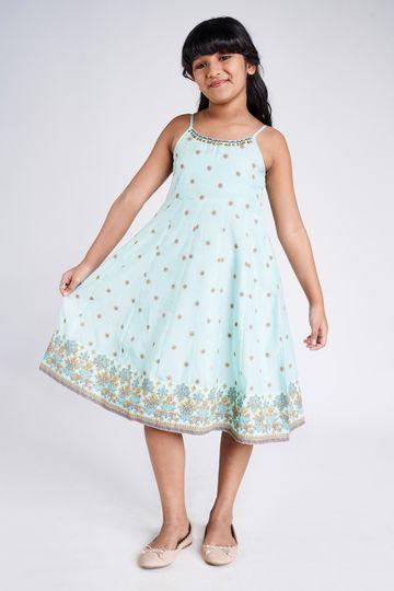 Global Desi | BLUE DRESS
