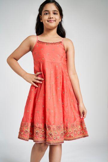 Global Desi | Pink Dress