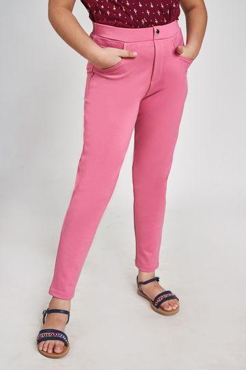Global Desi | Pink Solid Bottom