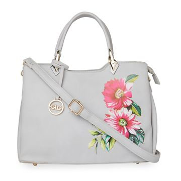 globus | Globus Light Grey Hand Bag