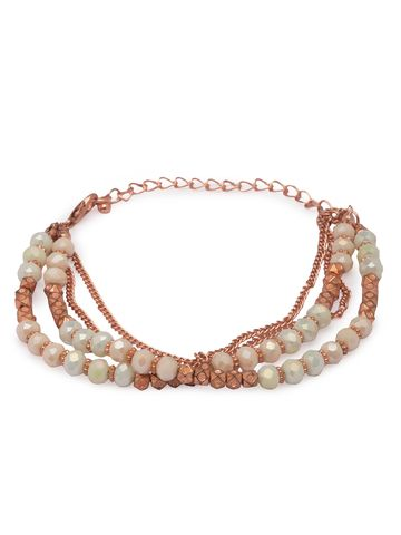 globus | Globus Rose Gold Clasp Bracelet
