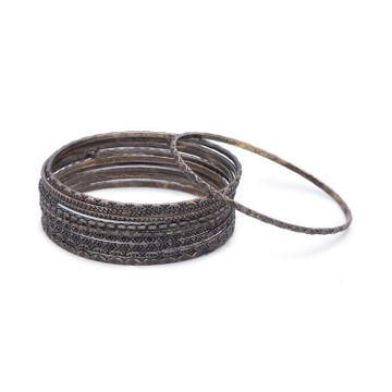 globus | Globus Silver Ethnic Bracelet
