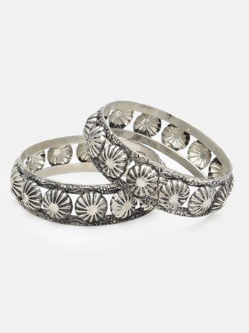 globus   Globus Silver Ethnic Bracelet