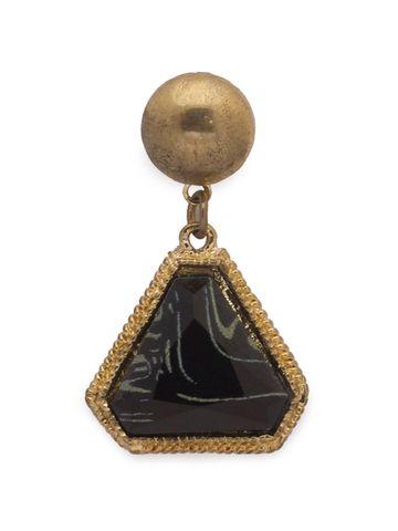 globus | Globus Gold Dangling  Stud Earring