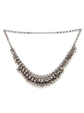 globus | Globus Metallic Statement Necklace