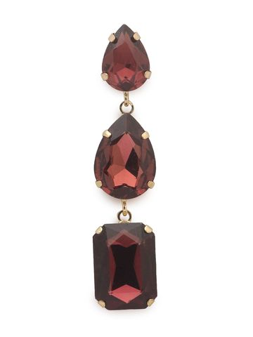globus | Globus Burgundy Long Earring