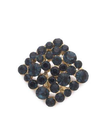 globus | Globus Navy Blue Statement Stud Earring