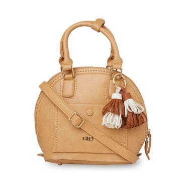 globus | Globus Khakhi Fashion Bag